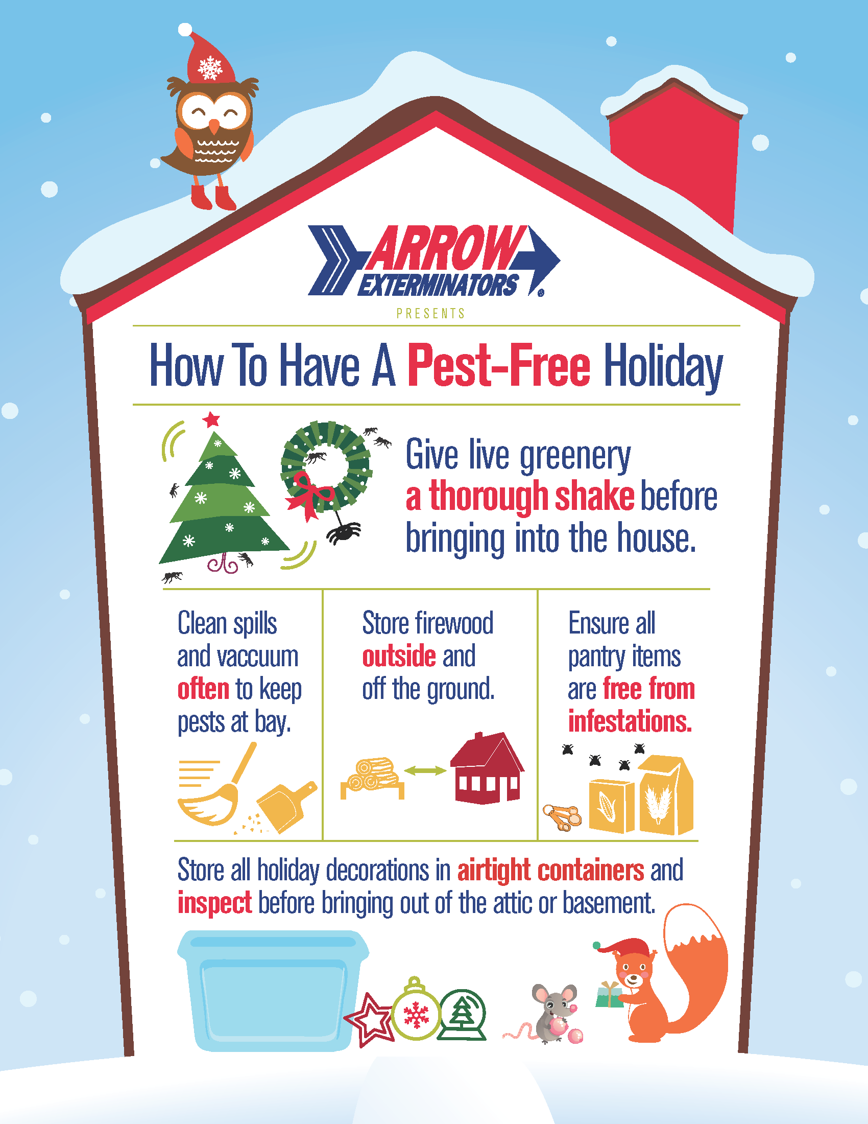 keep your holidays pest free
