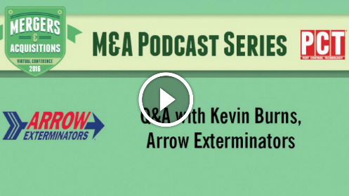 Q&A with Kevin Burns from Arrow Exterminators