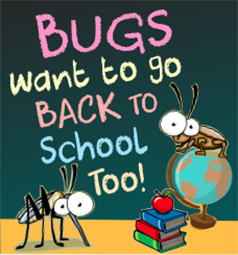 Bugs Want To Go Back To School Too