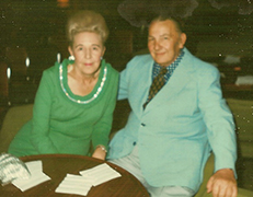 Founder James S. (Starkey) Thomas Sr. and his wife Imogene (Jean)